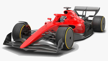 Formula 1 Season 2021 F1 Race Car Low-poly PBR 3D model