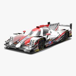 TDS Racing LMP2 WEC Season 2017 3D model