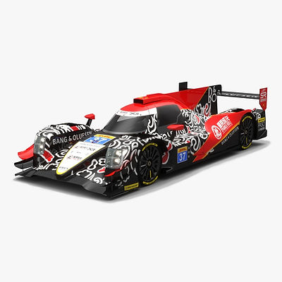 Jackie Chan DC Racing LMP2 WEC Season 2017 3D model