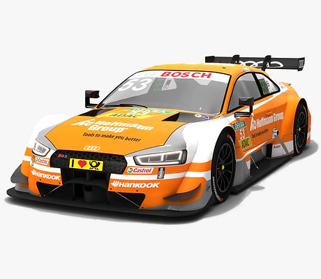 Audi RS5 DTM #53 Jamie Green Season 2018 3D model
