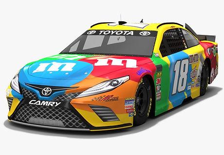 Joe Gibbs Racing #18 NASCAR Season 2018 3D model