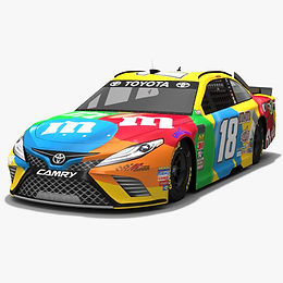 NASCAR Cup Series Low-poly PBR 3D models