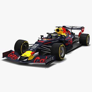 Grey Cat F1 RB15 Formula 1 Season 2019 3D modelprev01ss.jpg