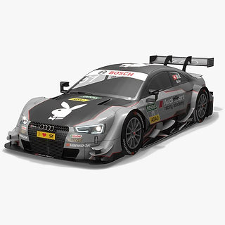 Audi Sport Team Abt 51 DTM Season 2016 3D model