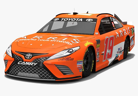 Joe Gibbs Racing #19 NASCAR Season 2018 3D model
