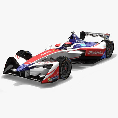 Mahindra Racing Formula E Season 2017 2018 3D model
