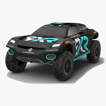 Rosberg Xtreme Racing Extreme E Season 2021 Low-poly PBR 3D model