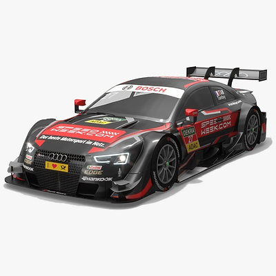 Audi Sport Team Rosberg 27 DTM Season 2016 3D model