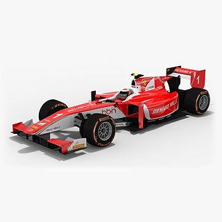 Prema Racing Formula 2 Season 2017 3D model