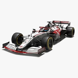 Alfa Romeo Racing F1 2021 C41 Formula 1 race car Low-poly PBR  3D model