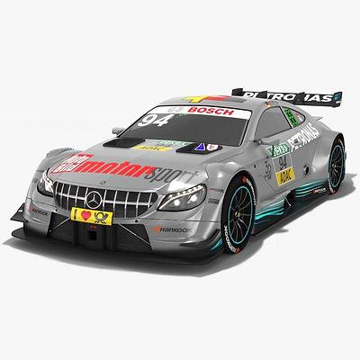 Mercedes-AMG C63 DTM #94 Pascal Wehrlein Season 2018 3D model