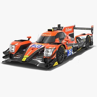 G-DRIVE Racing Oreca 07 LMP2 WEC Season 2018 2019 3D model