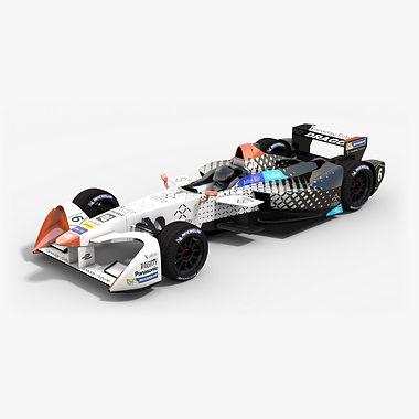 Faraday Future Dragon Racing Formula ESeason 2016 2017 3D model