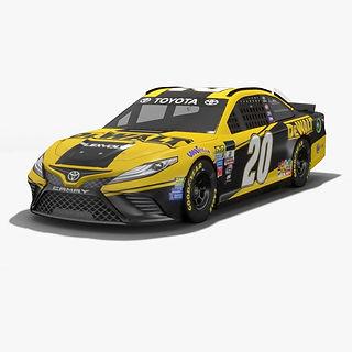 Joe Gibbs Racing Matt Kenseth NASCAR Season 2017 3D model