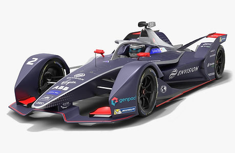 Envision Virgin Racing Formula E Season 2019 2020 Low-poly PBR 3D model