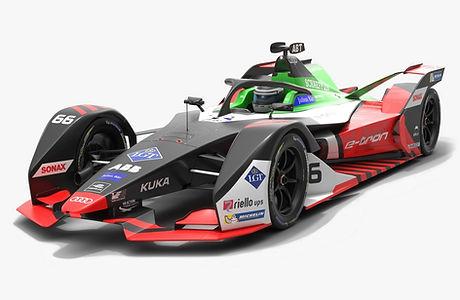 Audi Sport ABT Schaeffler Formula E Season 2019 2020 Low-poly PBR 3D model