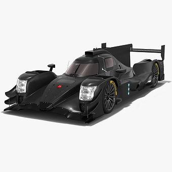 Oreca 07 LMP2 WEC Season 2018 2019 3D model