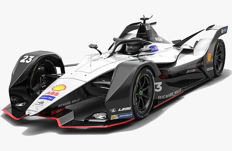 Nissan e.dams Formula E Season 2018 2019 3D model
