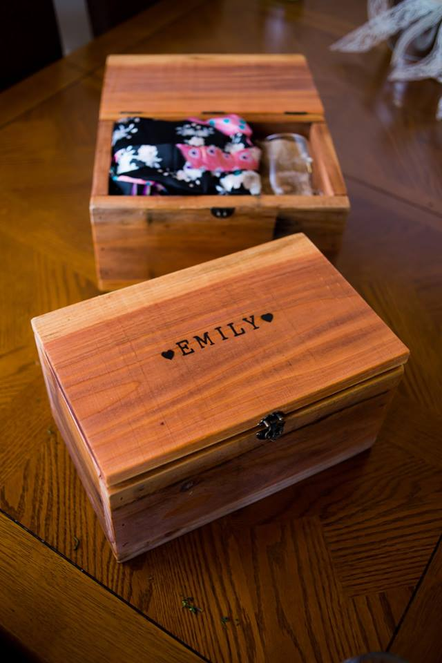 Custom Bridal Party Boxes