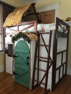 Custom Child's Loft Bed