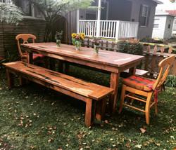 Farm Table + Bench