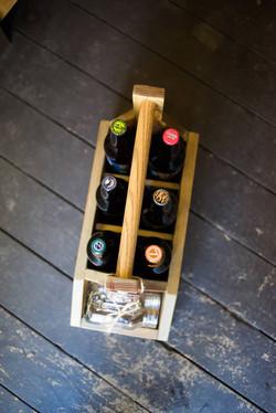 Custom Beer Caddy