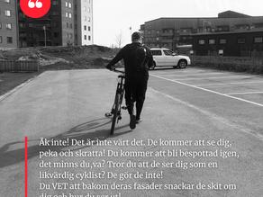 XL Biking MTB - Dagbok av en nybörjare 8 - Demonerna kommer!