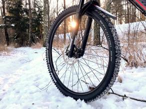 XL Biking MTB - Dagbok av en nybörjare 5 - Vinter, never surrender!