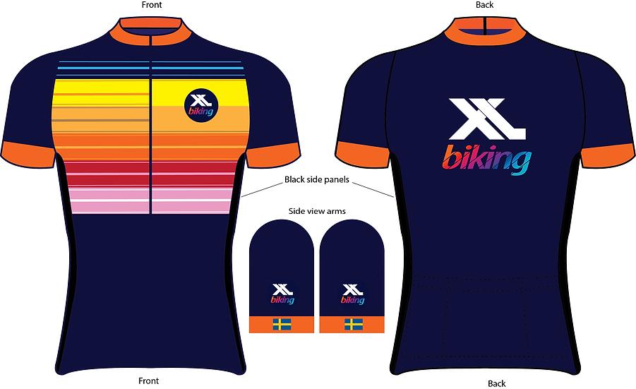 XL Biking Jersey - Limited Edition Unisex.