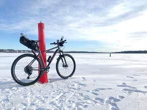 XL Biking MTB - Dagbok av en nybörjare 6 - Cykla på isen