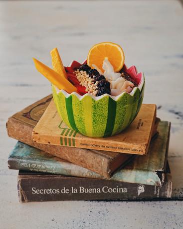Berry Tropical Smoothie Bowl