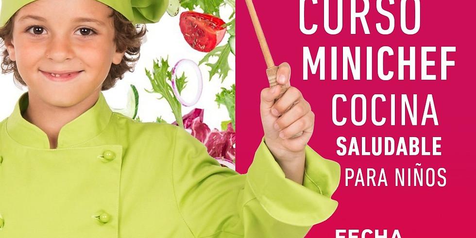 CURSO MINICHEF ⎮ COCINA SALUDABLE PARA NIÑOS