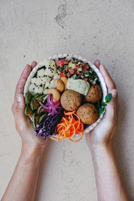Falafel Buddha Bowl