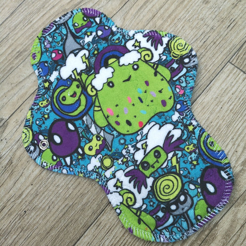 "MINKY 9"" Light Cloth Pad CORD BACKER"