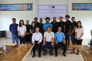 Marine Finfish Seed Production and Grow-out Training- Krabi, Thailand.