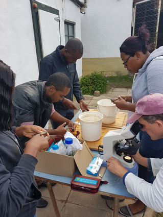 Four Seychellois trained in Fish Health and Biosecurity for Aquaculture at Rhodes University, South