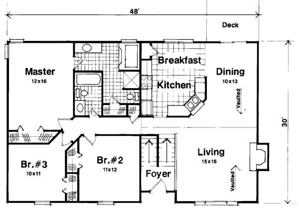 A1410 Small Floorplan