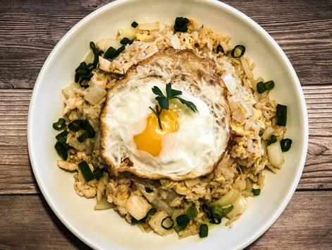 Fried Rice w/ Fried Egg