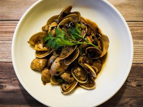 Baby Clams w/ Black Bean & Garlic