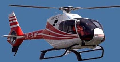 photo aérienne par hélicoptère