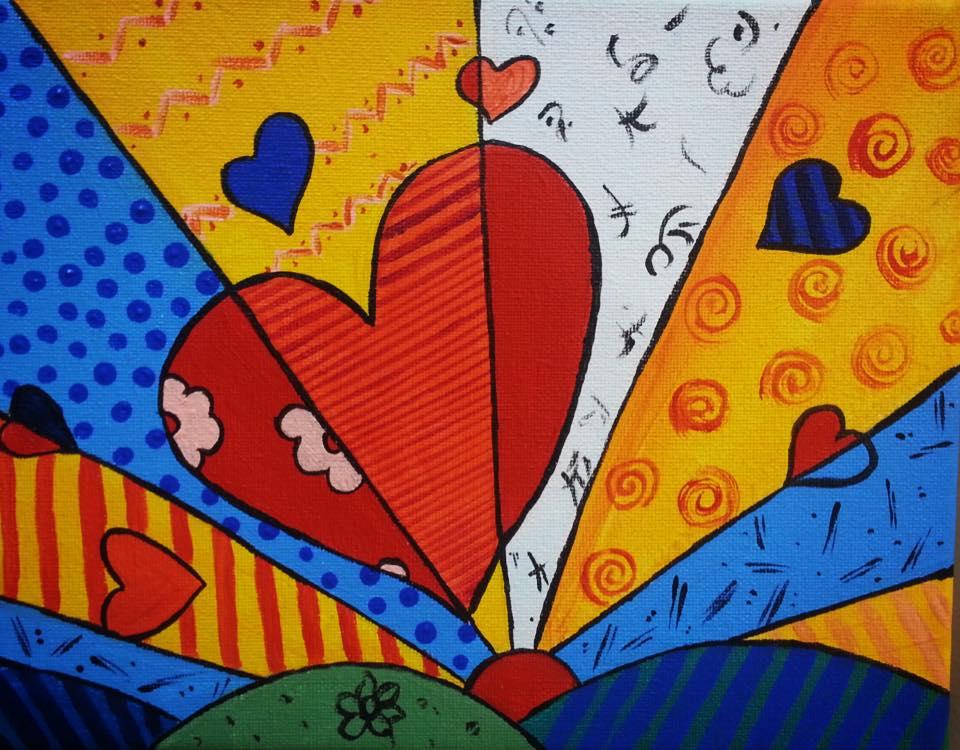 Britto's Hearts