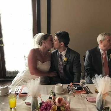Danielle and Matthew Brundage Wedding Reception