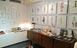 Arty Dandy Exhibition room