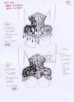 The tatoo corset