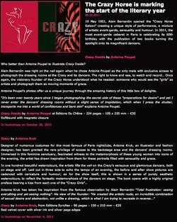 Crazy Horse Paris  web site