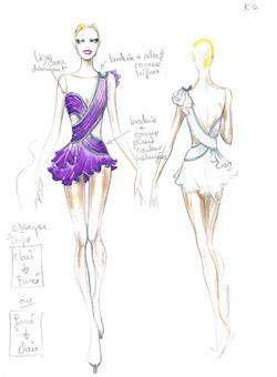 Drawing for C.Kostner/R.Cavalli