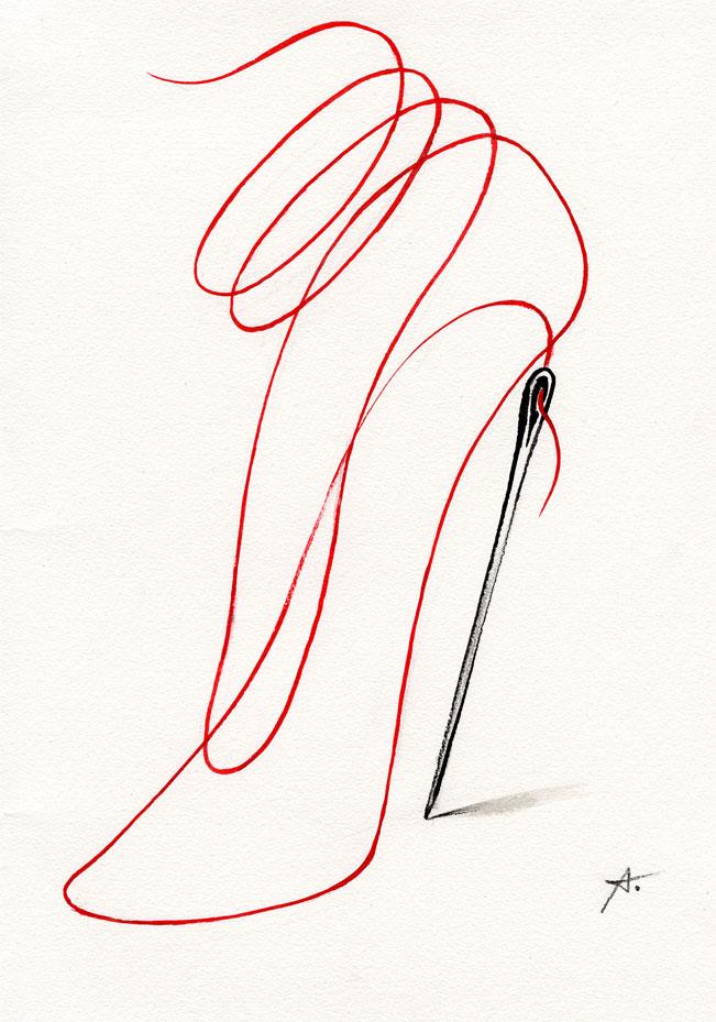 Talon aiguille /Pin heel