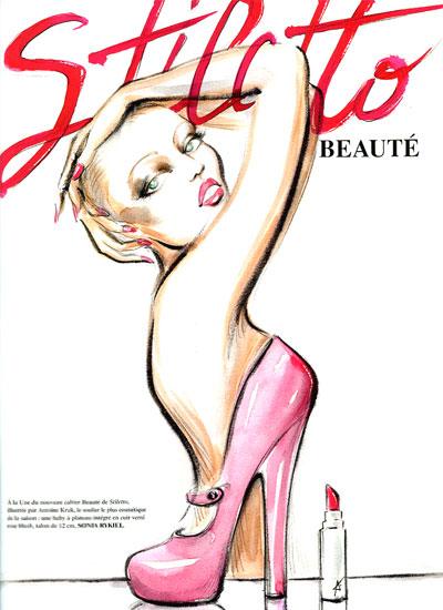 Stiletto page beauté