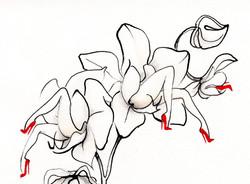 """""""Orchidelles"""" detail"""