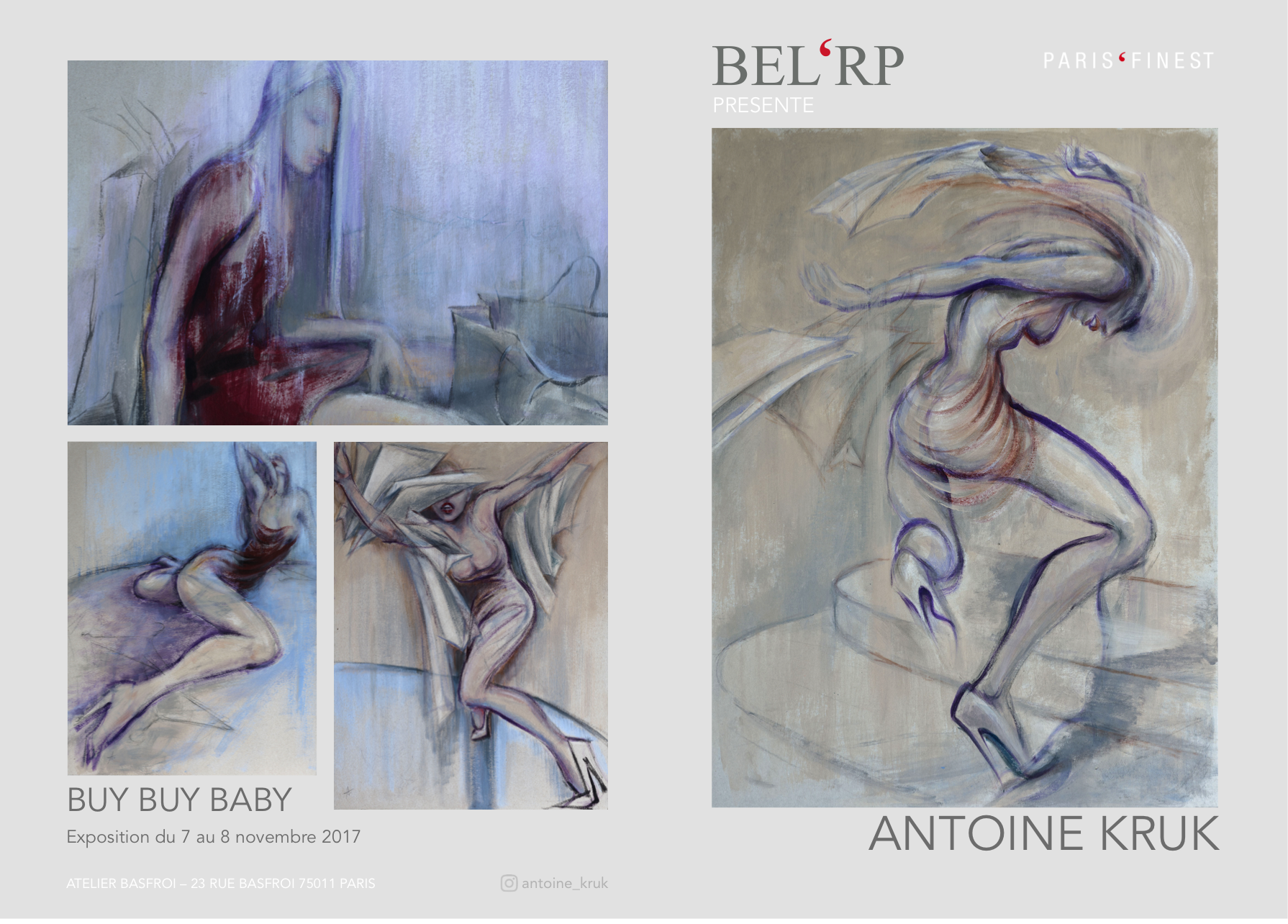 Exhibition organized by BEL'RP Paris